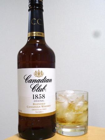190116カナディアンウィスキー カナディアンクラブ.JPG